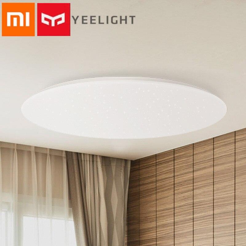 Xiaomi Yeelight JIAOYUE 450mm LED lampe de plafond intelligente anti-poussière Bluetooth télécommande APP Wifi contrôle Mijia maison intelligente