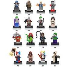 DC comics Villain super heroes movie Suicide Squad building block Joker Harley Quinn Deadshot Catwoman legoes minifigures toys
