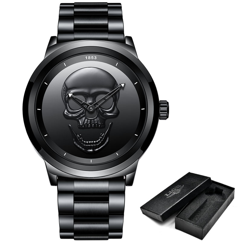 steel all black