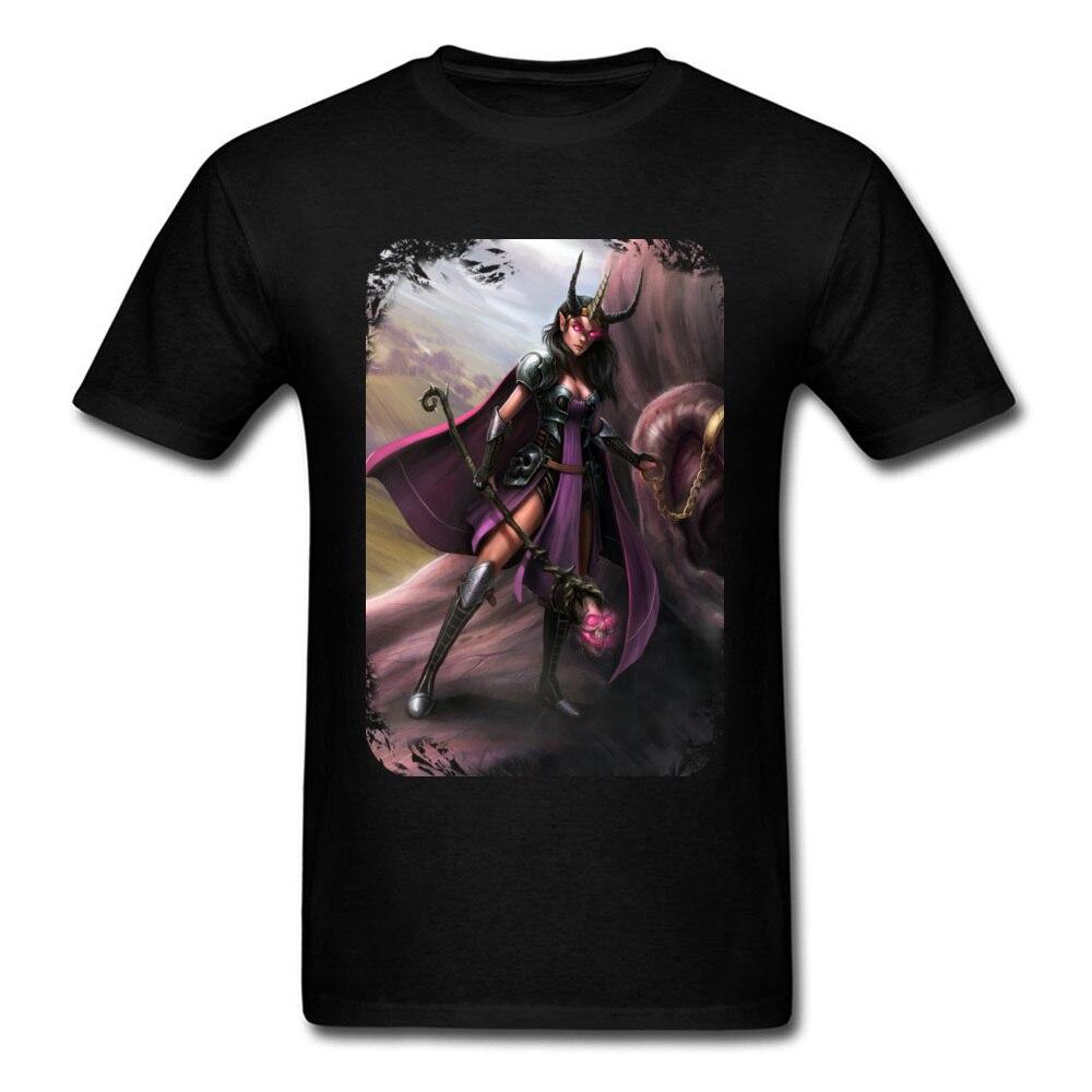 Trendy Whisperer Of Giants Men T-shirt Vintage Painting Guys Black Tops Woman Warrior Print Fitness Summer Tshirt