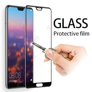 Image 1 - Protective Glass on the For Huawei P20 Lite P20 Pro Tempered Screen Protector 0.26mm 2.5D Edge Glass For Huawei P20 Lite Film