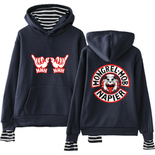LUCKYFRIDAYF New Kpop Mongrel Mob Idol Fashion Print Hoodies Warm Pop Long Sleeve Sweatshirts Women/Men Clothes