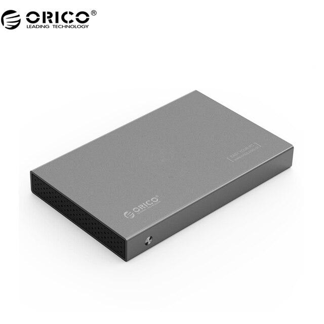 ORICO 3518S3 Алюминиевый SATA 3.0 до USB3.0 Типа B 2.5/3.5 дюймов SSD/Sata HDD Корпус Хранения-серый