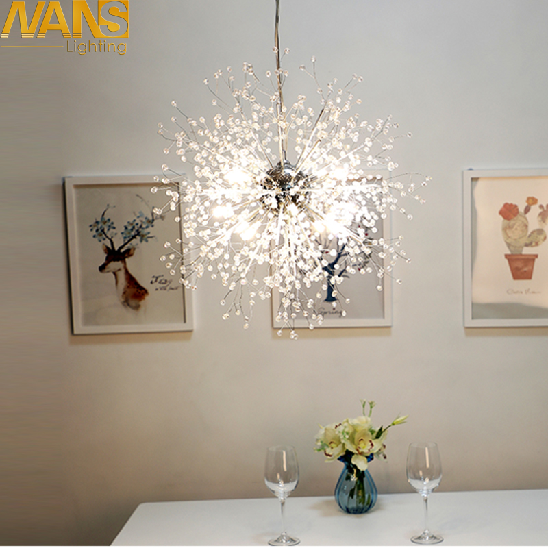 NANS Moderne LED Kronleuchter Acryl Lichter Lampe 60 Watt Fr Esszimmer Wohnzimmer Lampadario Moderno Lustre