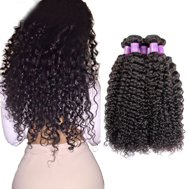 Peruvian Curly Virgin Hair 3 Bundles Bohemian Curly Weave Human Hair