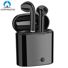 403bf8d76b3 Mini Bluetooth Earphone Wireless Earbuds With Charging Box Sports headset  For Iphone X Samsung S9 S9