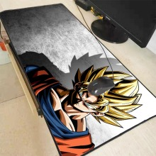 Mairuige Dragon Ball Z Goku Anime Durable Rubber Large Locking Edge Mouse Mat Pad Size for 300*600*2mm and 400*900*2mm Mousepad