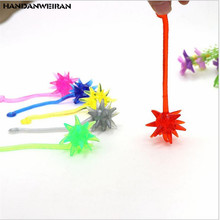 New 3pcs / lots childrens toys sticky meteor hammer retractable viscous elastic large hammer/childrens novelty