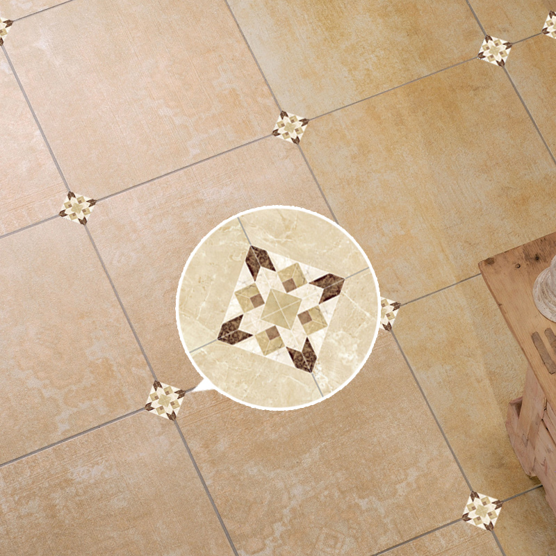 3d Floral Waterproof Floor Stickers Ceramic Tile Decor Decal