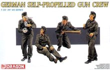 DRAGON 6367 1 35 FIGUREN SET GERMAN SELF PROPELLED GUN CREW