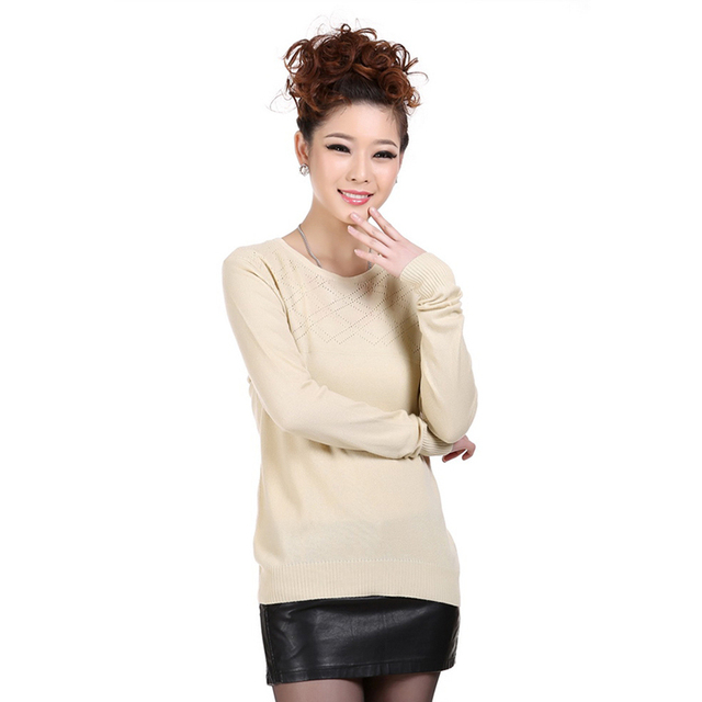 Pure Cashmere Sweater Women Pullovers Sweater Real Cashmere Pullover Women Outwear Pullover Cashmere Sweater Women-A920