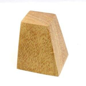 Image 5 - 4 stücke 8cm Höhe Solide Holz Rechten Winkel Trapez Möbel Beine Sofa Bank Closet Kabinett Füße Couch Kommode Sessel fuß