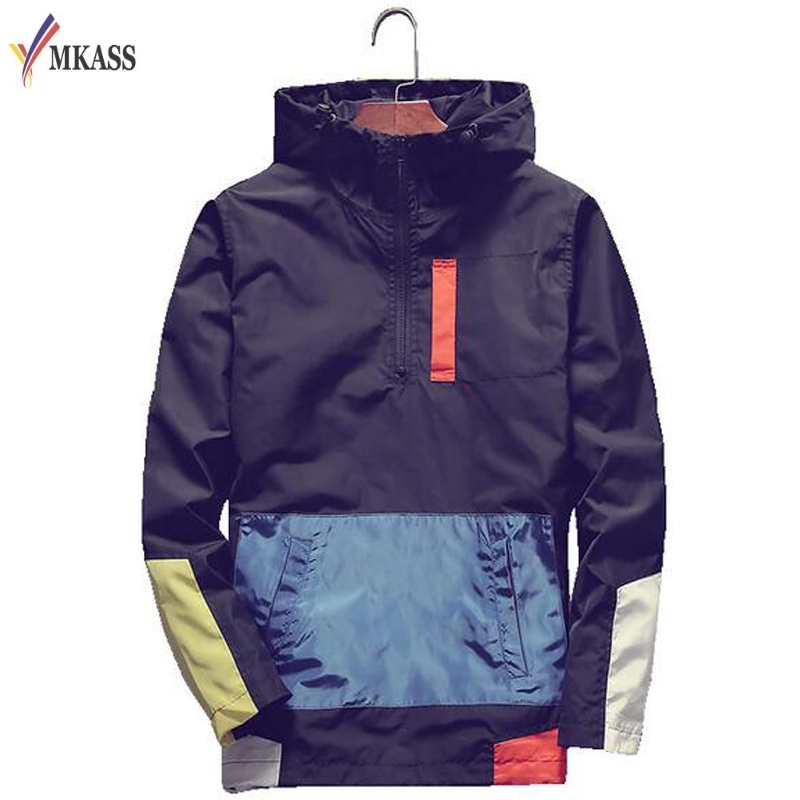 0ec17c40b Plus Size 5XL Men's Jackets Waterproof Spring Hooded Coats Men ...