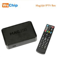 5 UNIDS Sistema Linux 2.6.23 Mag250 IPTV Set Top Box STi7105 Procesador RAM 256 Mb Como Mag 254