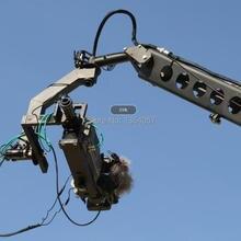 12 м 3 оси jimmy jib кран для с моторизованной голландской головкой загрузка 16 кг