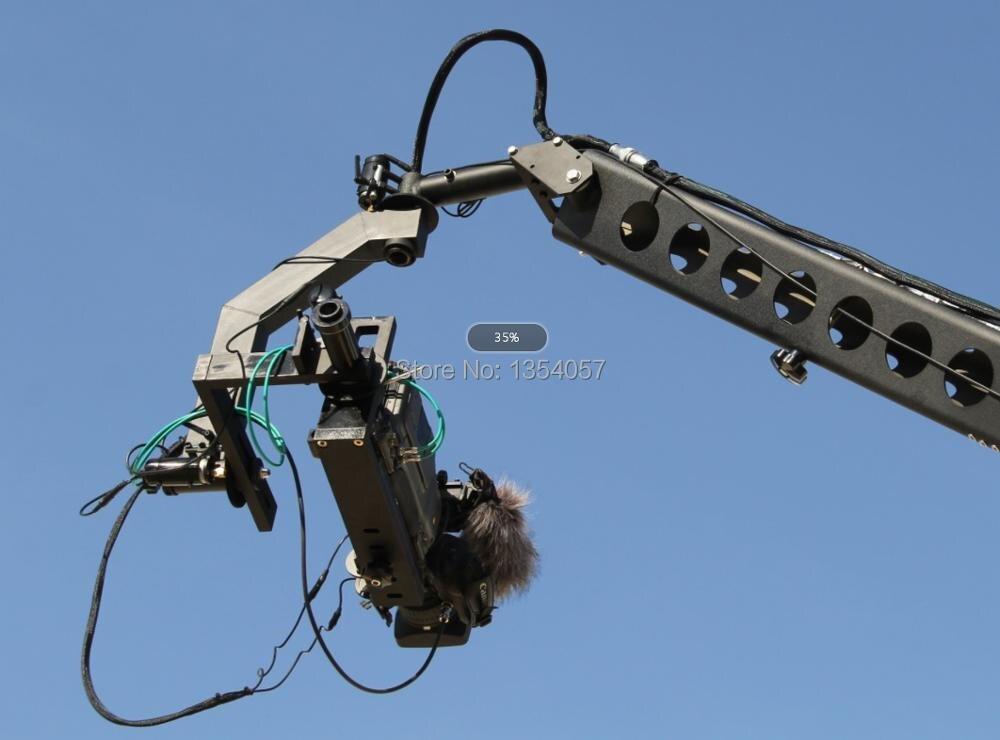 12 m 3 axes jimmy potence grue pour avec tête hollandaise motorisée chargement 16 kg