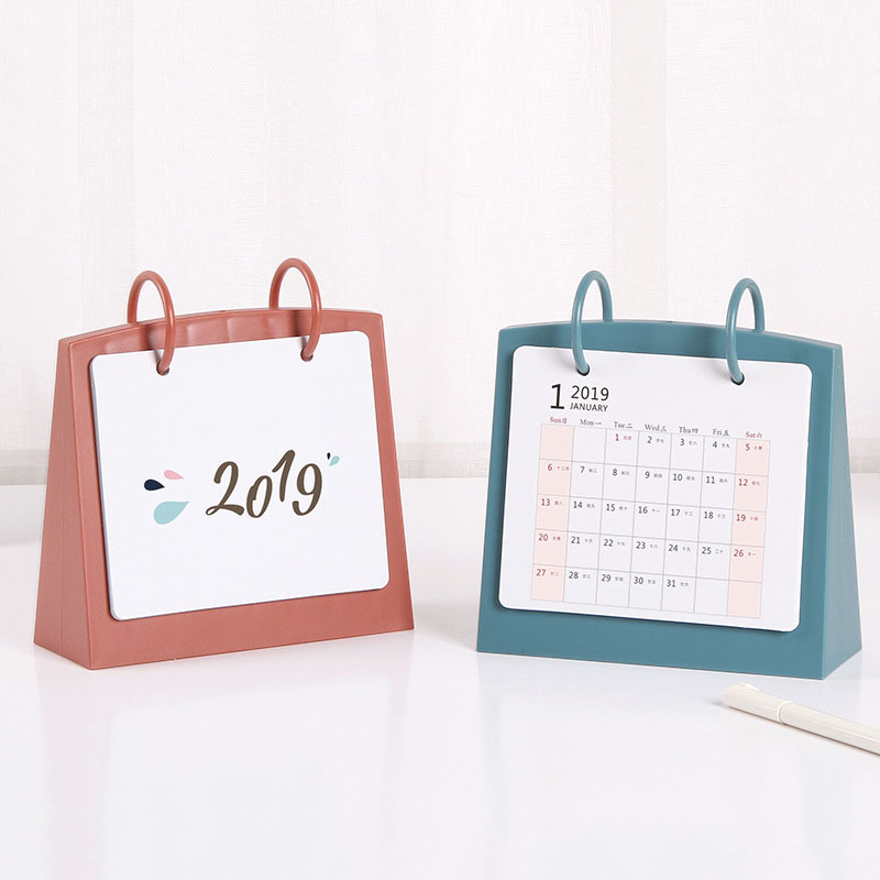 Year Of The Pig Planner Agenda 2019 Kpop Table Diy Table Calendar Photo Organizer Desk Calendar New Arrivals Office Supplies new 2019 arrivals small black white table desk calendar personalised cube blocks birthdays diy board calendars office supplies