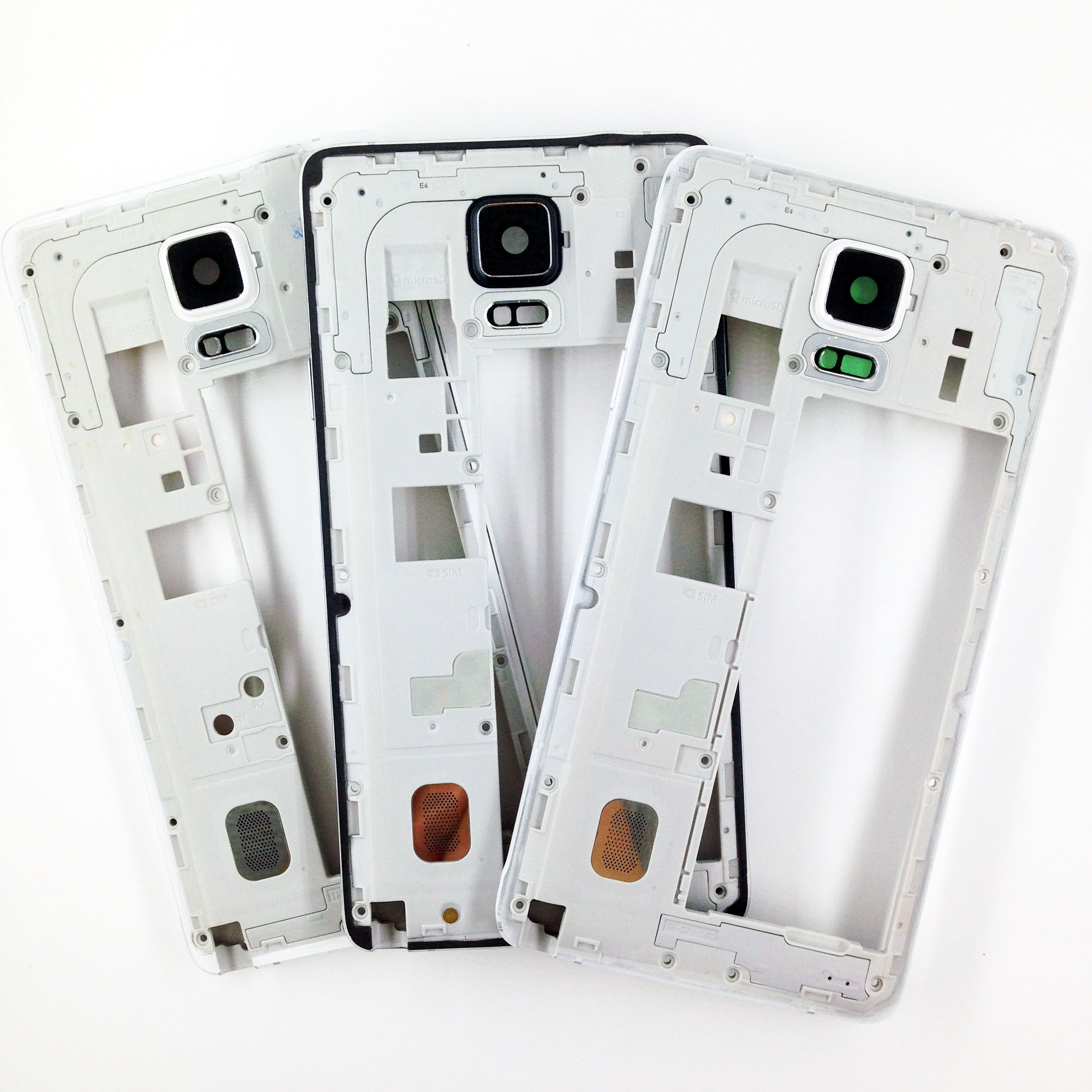 For Samsung Galaxy Note 4 N9100 N910F N910V N9108V N910C Middle Chassis Plate Bezel Mid Housing