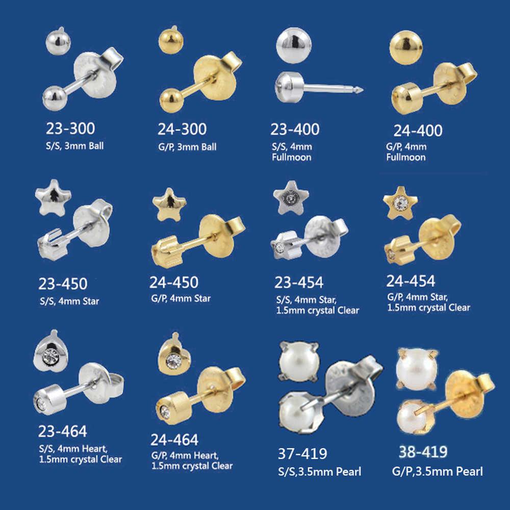 Đôi Tai có Dây Bông Bông Tai Trang Sức CZ Đá Quý Pha Lê Thời Trang Ngôi Sao Phong Cách Trái Tim Ngọc Trai tiết Bướm Hoa Cúc