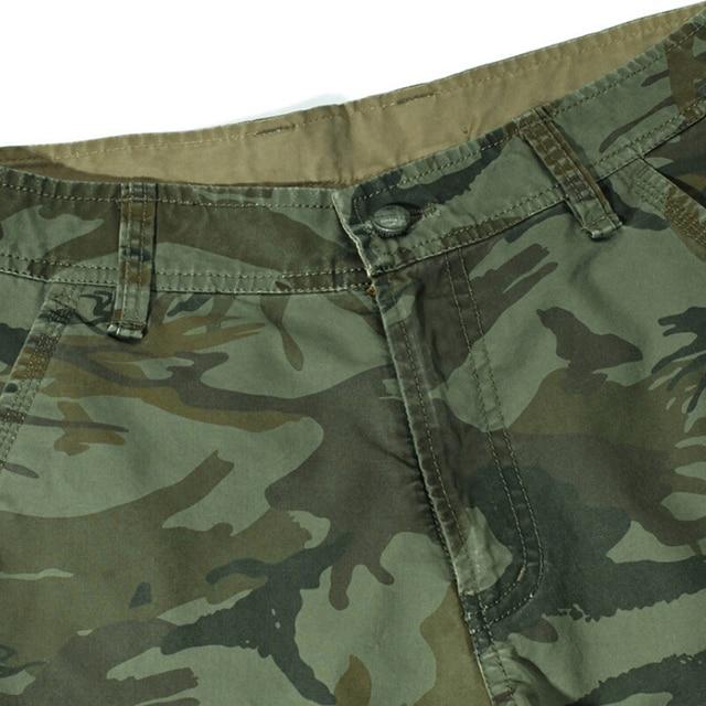 Camuflaje camuflaje pantalones cortos hombres 2020 nuevo Mens Shorts informales para Hombre Pantalones cortos de trabajo sueltos hombre militar pantalones cortos pantalones de talla grande 29-44