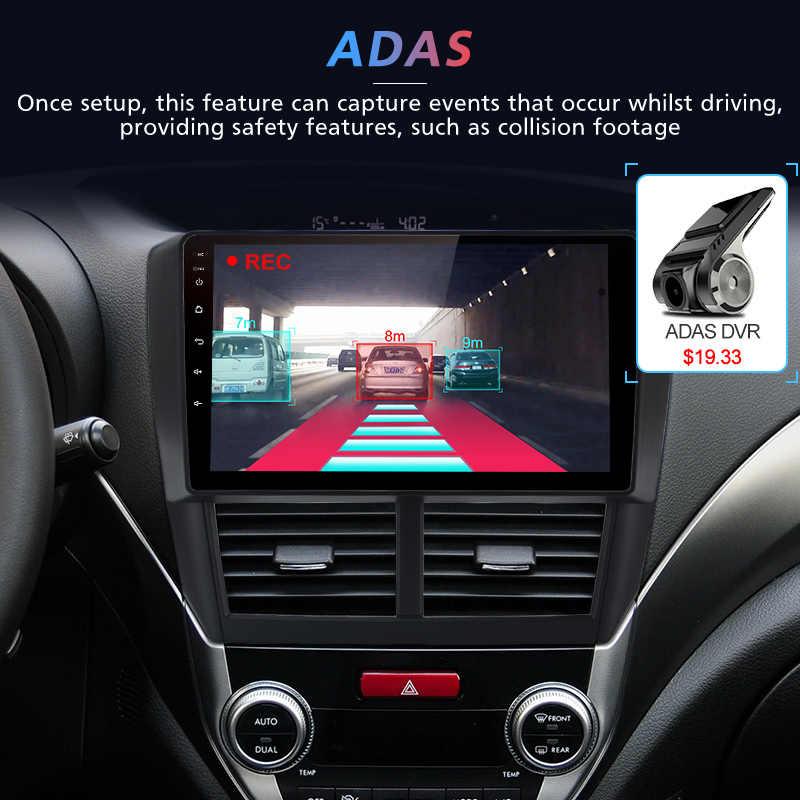 Reproductor de vídeo Multimedia Junsun V1 2G + 32G Android 8,1 para Subaru Forester 3 2007-2013 2 din Auto SIN DVD