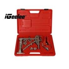 IGeelee Pex обжимной инструмент для соединения труб FT-1225 для соединительных фитингов и ПВХ труб 12-20 мм Pex Соединительный набор инструментов