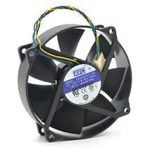 Refroidisseur rond original pour AVC, refroidisseur pour d09025t12u 9025, 90mm / 80mm x 25mm, PWM, radiateur rond, 12V, 0,70a, connecteur à 4 broches