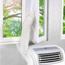 3m/4m/5.6m Air Lock Door Window Seal Cloth Plate Universal Home Flexible Waterproof Soft Board For Mobile Air Conditioner цена