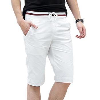 Мужские хлопковые шорты в стиле кэжуал