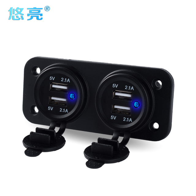 Multi Plug 4 Usb Car Charger For More Digital Convenicence Smart Port Mobile Phone 12 24v
