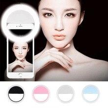 Girlwoman Flash Light for Phone Selfie LED Ring Round Flash LEDS Camera Selfie L