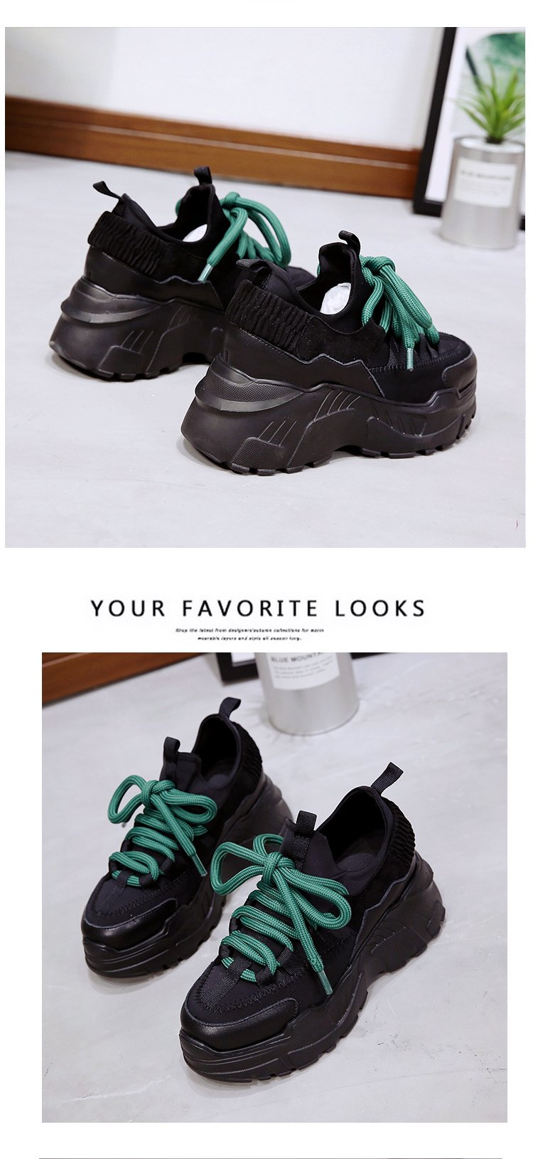 Sooneeya Four Seasons Youth Fashion Trend Shoes Men Casual Ins Hot Sell Sneakers Men New Colorful Dad Shoes Male Big Size 35-46