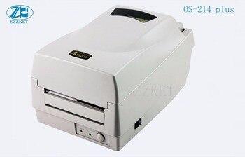 OS-214plus thermal printer OS-214 \ thermal transfer barcode printer label printer for Argox,OS-214 plus фото