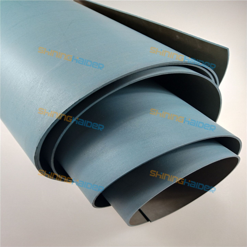 Thickness 1mm 1 2mm 1 5mm 5mm length 1m green color PTFE turcite b CNC  machine tool rails soft PTFE tape paste plastic belt