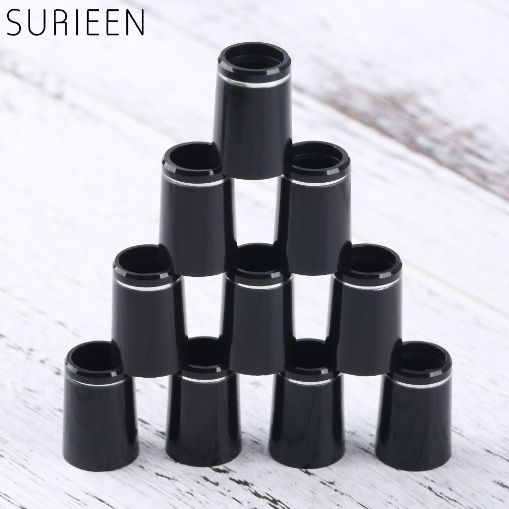 10pcs Plastic Golf Ferrules With Single Ring Fit 0.335 Or 0.370 Tips Irons Shaft Golf Shaft Sleeve Adapter Replacement 16mm/19mm