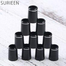 10pcs 플라스틱 골프 ferrules 단일 반지 맞는 0.335 또는 0.370 팁 아이언 샤프트 골프 샤프트 슬리브 어댑터 교체 16mm/19mm
