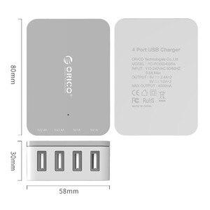 Image 5 - ORICO שולחן העבודה USB מטען נייד אוניברסלי חכם טעינה 4 יציאות מטען עבור סמסונג Xiaomi Huawei Tablet