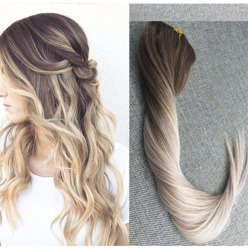 Aliexpress.com : Buy Full Shine Ombre Color #5#20#24 Clip ...