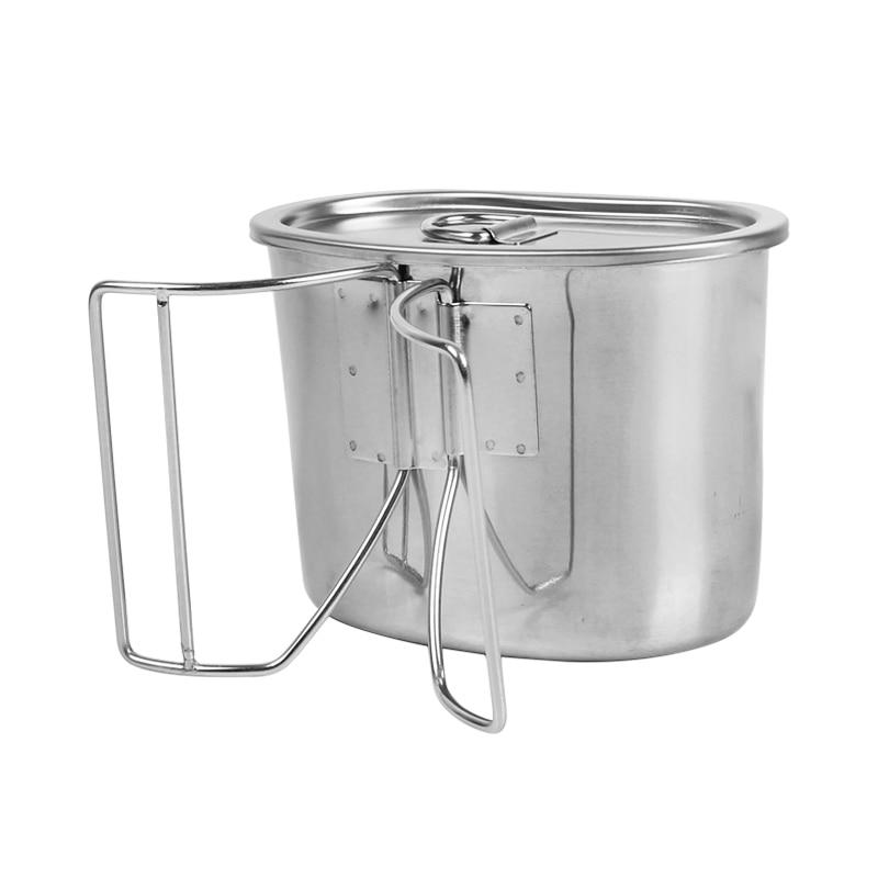 Rover camel 700 ml taza taza que acampa cocinando el campo de juego de cocina de