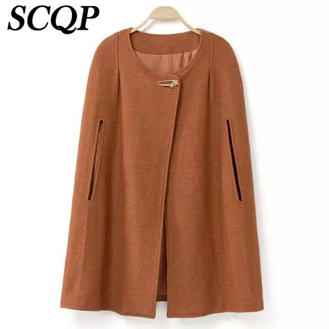 Aliexpress.com : Buy 2016 New Fashion Womens Winter Capes Covered ...