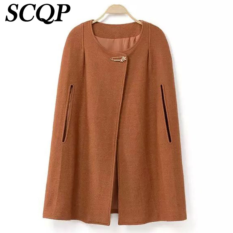 Popular Wool Cape Coats-Buy Cheap Wool Cape Coats lots from China ...