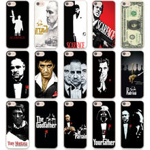 Scarface Pate Fällen abdeckung für Apple iPhone 11 Pro MAX 5 5S 6 6S 7 8 Plus X XS XR XS MAX Protector Hard Telefon fall coque(China)