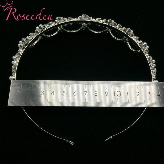 Фото романтические узорчатые стразы свадебная диадема из кристаллов цена