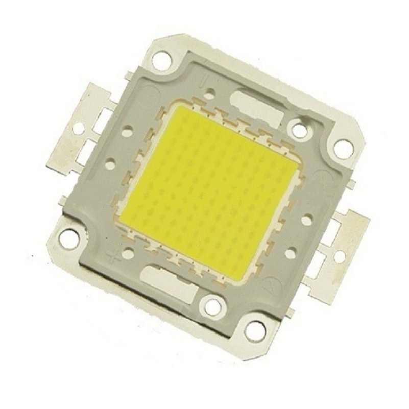 1W 10W 20W 30W 50W 100W Led chip for Integrated Spotlight DIY Projector Outdoor Street Flood Light High bright 30mil Full power