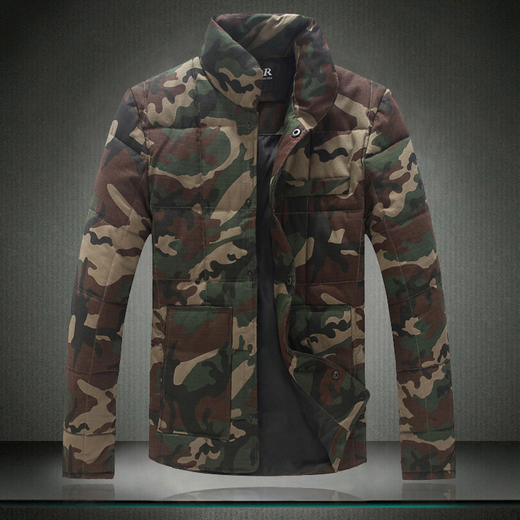 Hot Sale Men's Jackets Thick Fashion Camouflage Coats Plus Size 5XL High Quality Men's Overcoats Casual Cotton Jackets