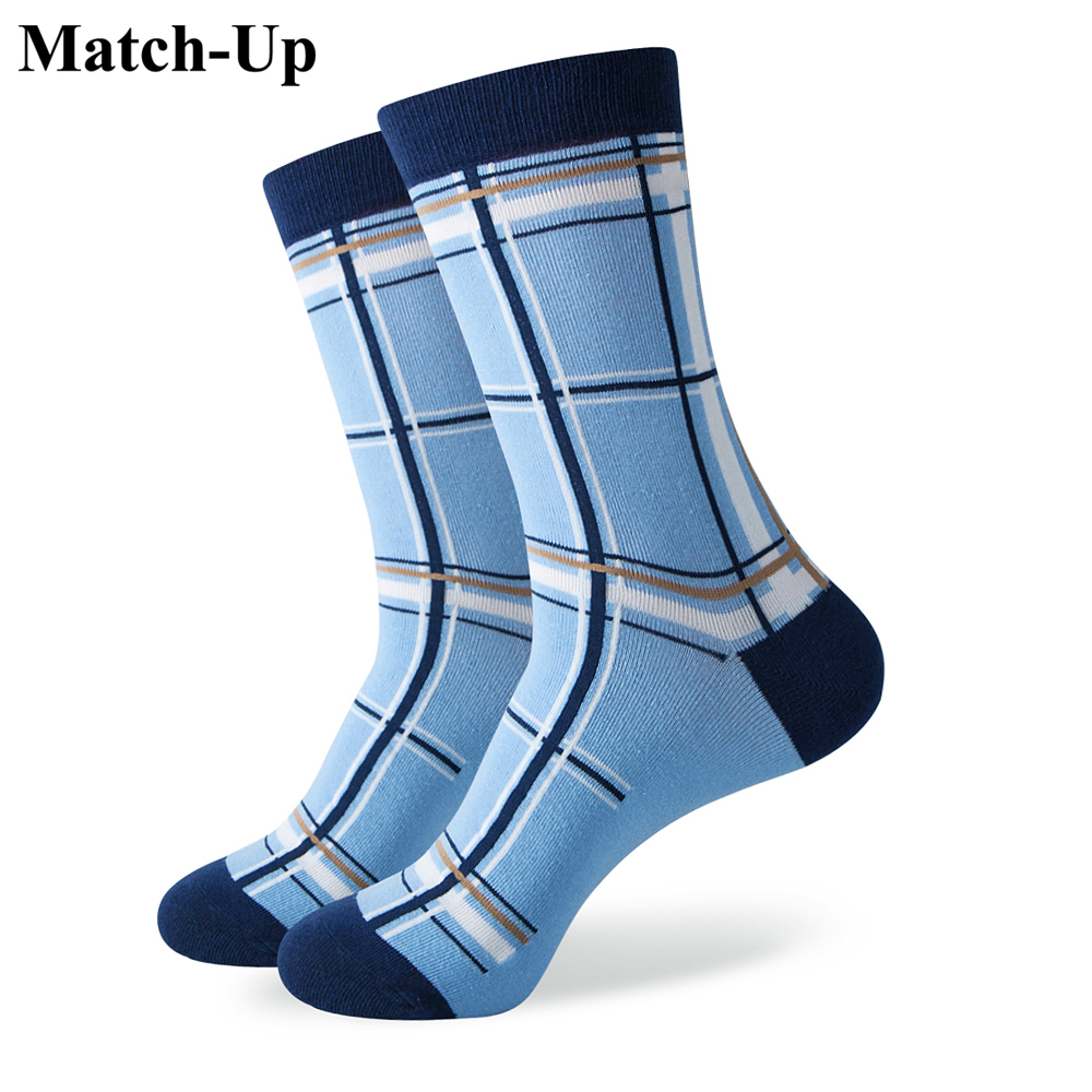 Match-Up funny men's Cotton   Socks   Wedding   Socks   Brand   socks   US size(7.5-12)