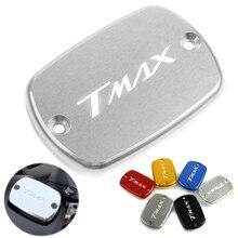 цена на Motorcycle Accessories Brake Fluid Reservoir Tank Cap Cover For YAMAHA TMAX 500 T-Max  500 2008-2011 T-MAX530 TMax 530 2012-2016