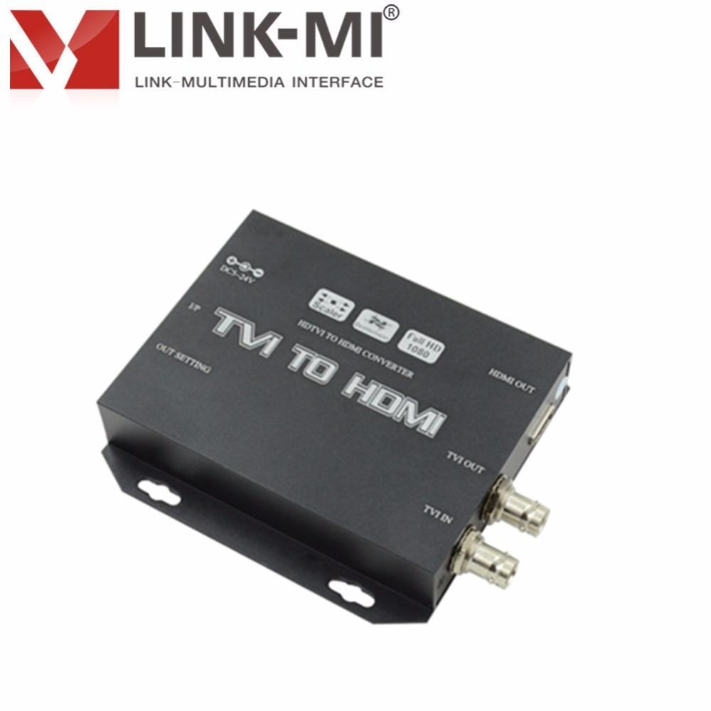 LINK-MI LM-TH01 Professional HD Video Converter HDTV TVI kuni HDMI muundur Kuni 1080p