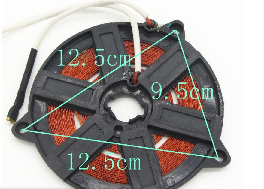 heating plate copper coil reels small stove parts coil copper coil winding 12 -13.5 -14.1 15.5-15.8 16.5-19  2000w - 2500W rice cooker parts paul heating plate 900w thick aluminum heating plate