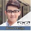 2016 Grau lente clara Óculos para Homens Óculos Masculinos Óculos de Computador Do Vintage Esportes frame Ótico espetáculo armação Dos Óculos Quadros